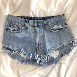 LF CARMAR denim shorts size 27